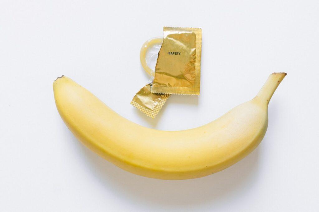 banaan, condoom, soa